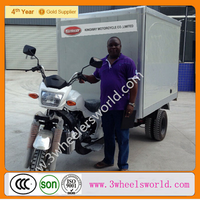 2014 China 200cc Closed Cooling box Refrigerator three wheel motorcycle