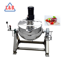strawberry jam Heating and Mixing Interlayer Pot
