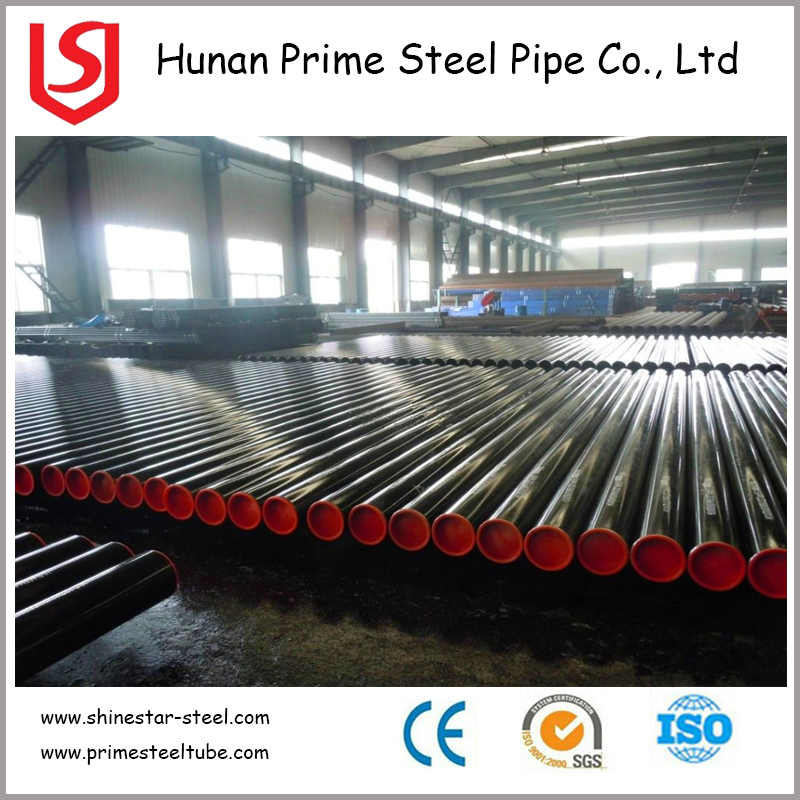 large diameter corrugated steel pipe/ASTM a500 grade ERW welded seamless steel pipe for gas