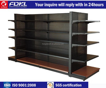 Heavy-duty Retail Convenience Store Custom manufactured Clothing Shelf