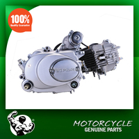 motorcycle engines--horizontal lifan 90cc engine