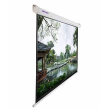 "SNOWHITE 100"" 4:3 format 60*80 inches 3V100MMV Manual Professional Plus pull down projector screen"