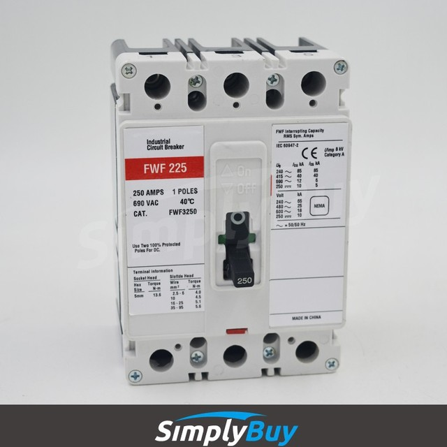 Industrial Circuit breaker replacement for Westinghouse