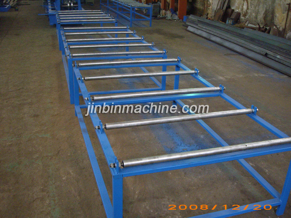 C channel steel purlin cold roll forming machine