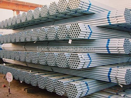 hot dip galvanized steel pipe trading, Zinc Galvanized Round Steel Pipe for building material 21