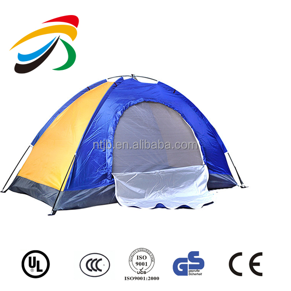 Popular 2 person Ger double layer dome family outdoor removing camping mountain travel fishing beach tent