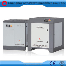 certified by CE ISO9001:2008 small air compressor,screw compressor