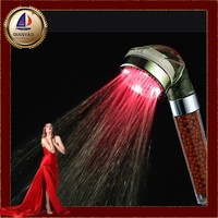 Cixi qianyao Hydroelectric power led rain shower