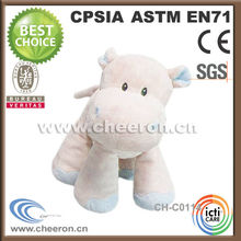 Excellent hippo gifts plush animal hippo toy