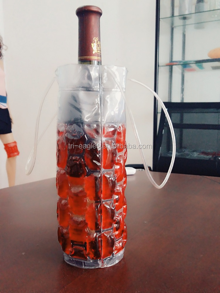 Beer bottle cooler /wine bottle cooler sleeve ice bucket