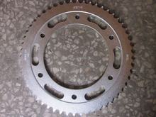NXR125 Bross Colombia motorcycle rear/front sprocket set, motorcycle transimission system ,frenqiu factory
