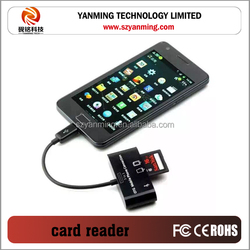 camera connection kit otg card reader with usb port for U-disk/computer/mouse/keyboard/camera