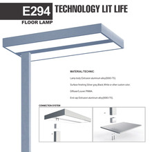 2017 CE Sale Price Office Floor Lamp Dimmable LED Standing Lights