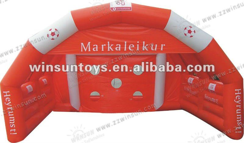 2012 CE certificate Inflatable sports games,Football Shoting