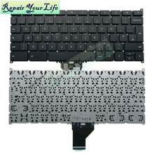 Wholesale original laptop keyboard for ACER Chromebook C720 UK layout BLACK