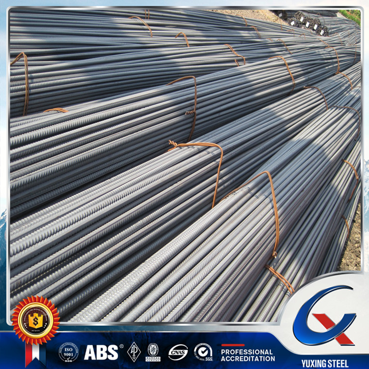 Grade HRB400 HRB500 6mm-32mm ribbed deformed reinforcement steel bar