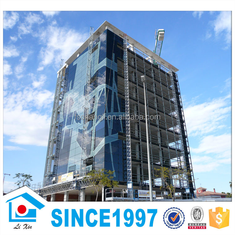 China Multi-story Prefabricated Light Steel House fast installation prefab house
