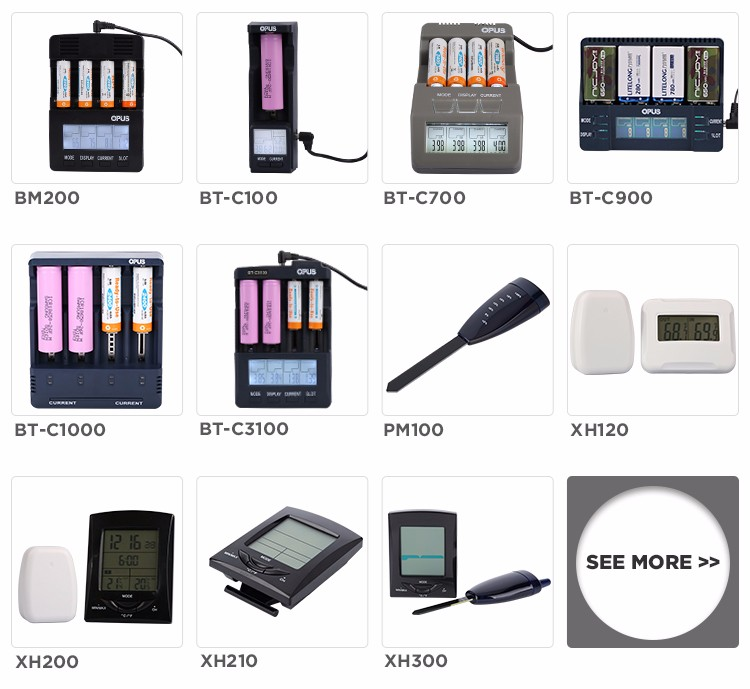 High quality Li-ion battery charger with power bank