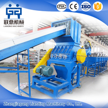 Hot sale plastic film crusher and recycle machine