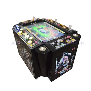 2018 Popular IGS Games 6 Players Arcade Cabinet Fish Hunter Table Gambling Game Machine