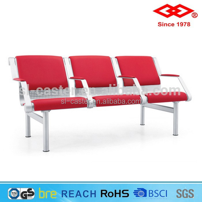 Airport bench/airport seating/PU cover waiting room chair