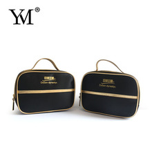 Factory supply ! high quality professional beauty make up cosmetic pouch bag satin makeup gift bag with custom logo