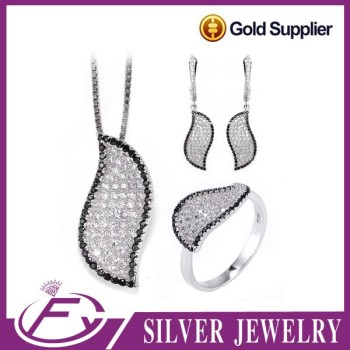 Low mininum aaa cz stone 925 sterling silver wholesale jewelry morocco