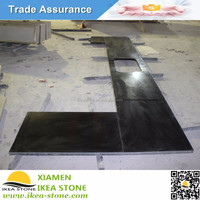 Kitchen Countertop Material Absolute Black Granite