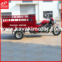 Three wheel commercial strong gasoil tricycles/ motocycles for heavy cargo