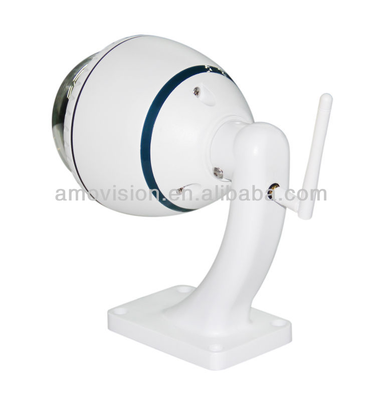 Amvision Q8540 High Speed 1.3 Megapixel HD Network Weatherproof PTZ Dome 4X Optical Zoom Ir Night Vision IP CAMERA