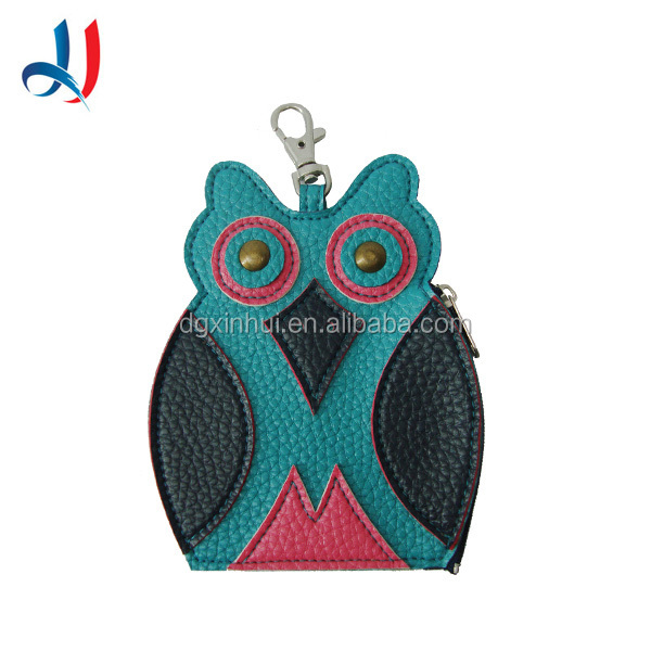 2016 Fancy Small Cute Animal Shaped Felt Coin Purse Personalized For Promotional Gift
