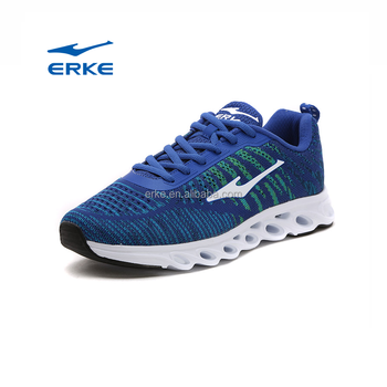 2017 hot sales wholesale ERKE brand mens footwear shoes sports shoes running shoes