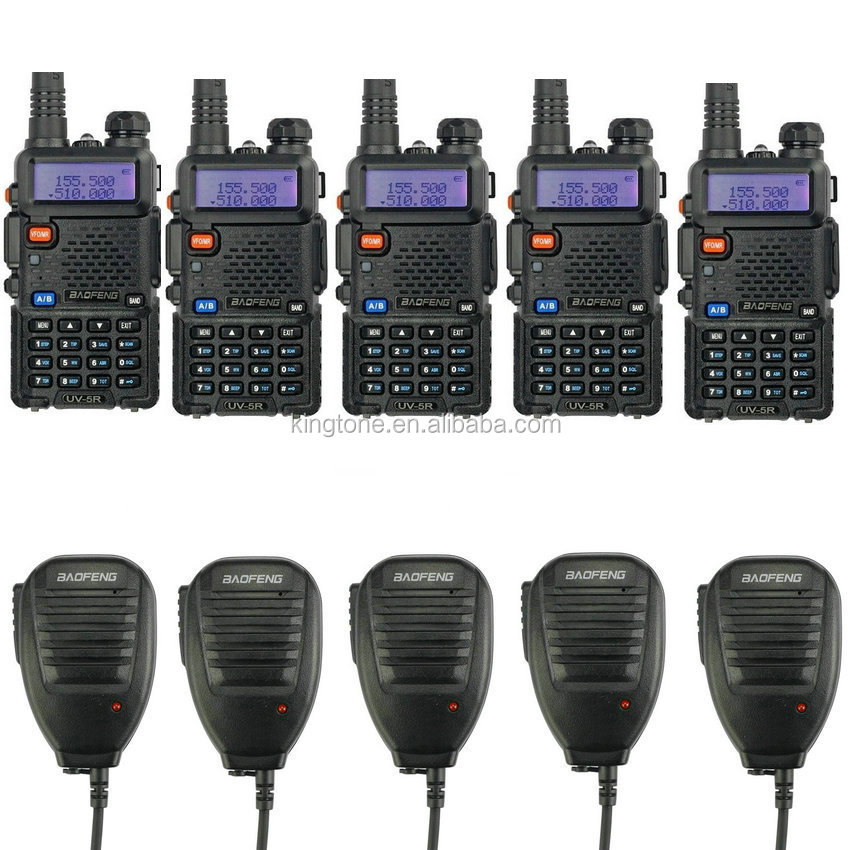 uhf vhf radio 66-88 mhz baofeng uv5r radio ham walkie talkie