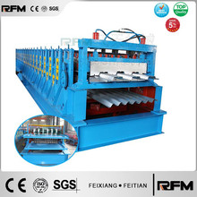Ft-rfm double layer vloer dek roll forming machine