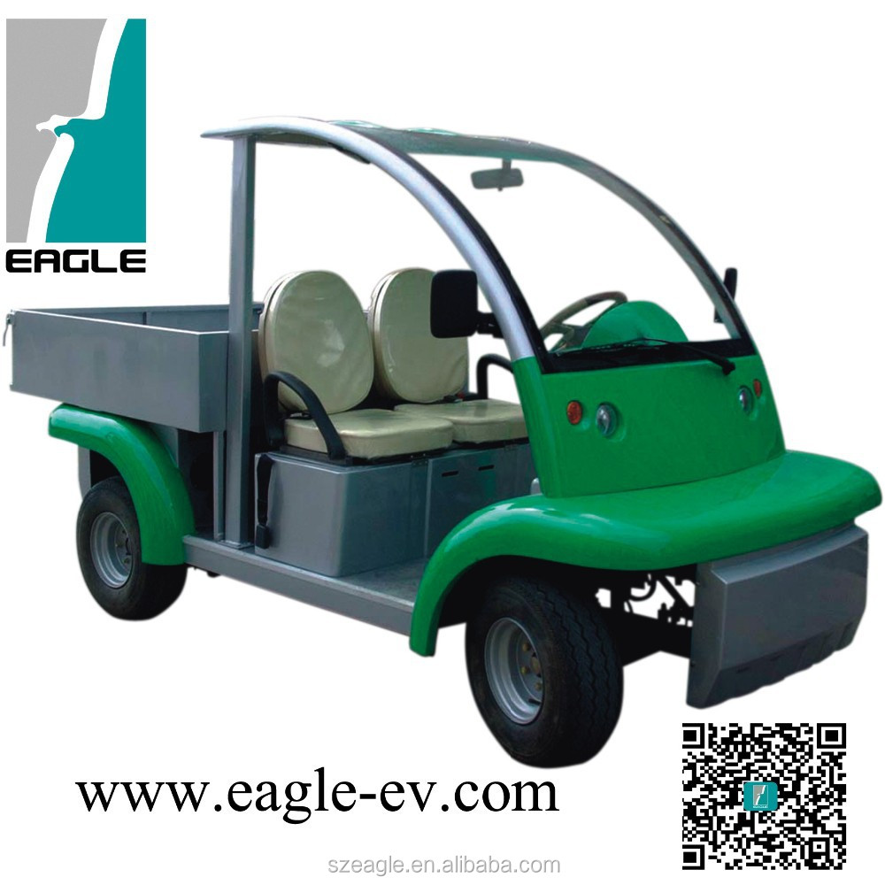 electric utility vehicle -EG6042KDX, with cargo box, widely used by hotel, resort