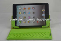 Universal tablet pc leather case bluetooth keyboard