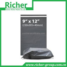 OEM hard colorded packing bag with self-adhesive