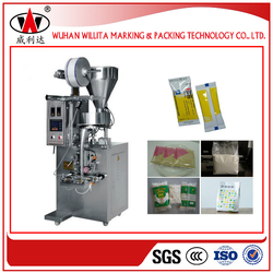 Stainless Steel Single Chamber small tea bag packing machine
