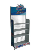 Auto spare parts/ car accessories heavy duty black metal display racks and stands/ display shelves for retail stores