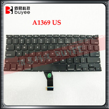 "for MacBook Air 13"" A1466 Keyboard Replacement Laptop US RU Layout"