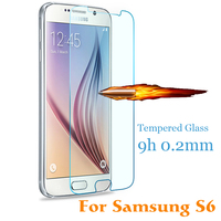 Factory price Anti Shock for samsung galaxy s6 Tempered Glass Screen protector