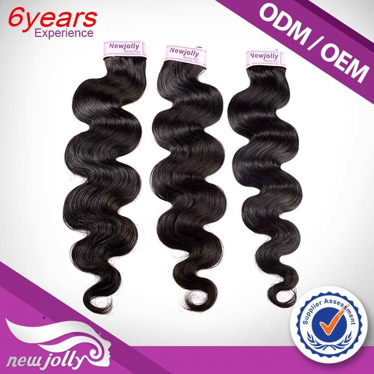 Free Sample 100% Full Cuticle China Factory Dyeable Virgin Weave Hair