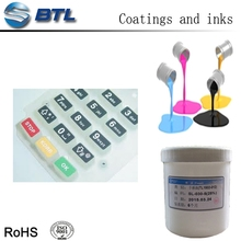 Colorful silicone painting for tire rubber
