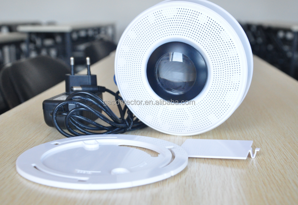 High quality photoelectric smoke and co detector fire alarm with wifi function
