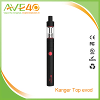 2016 Hot selling Kanger Top Evod Clearomizer, kanger evod kit, e-cigarette