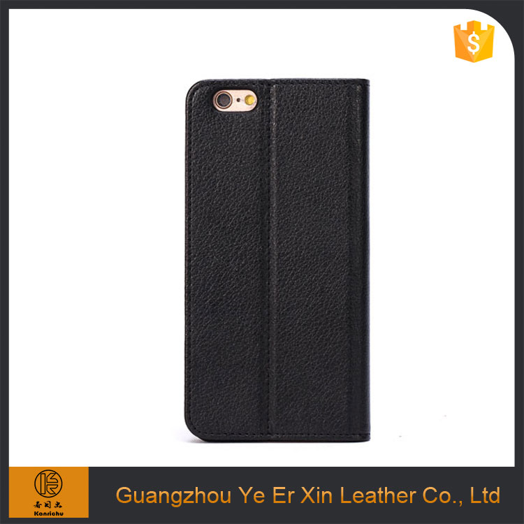 Factory oem service leather wallet stand cell phone case for iphone 6s/7/7plus