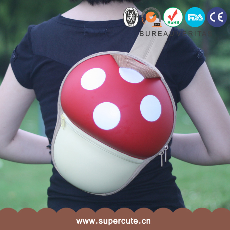 Super Mario Bros EVA Mushroom red children bag