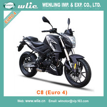 Popular pocket bike pizza cheap motorcycle EEC Euro4 Racing Motorcycle C8 125cc EFI system (Euro 4)
