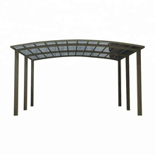 Modern Durable Aluminum Polycarbonate Carport