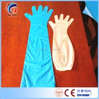 Long Disposable Glove Pe Plastic Long